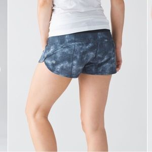 Lululemon Speed Short Mini Diffusion Size 8